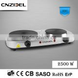 Cnzidel mini electric crepe maker and hot plate