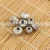 S817 New stainless steel flower round pacer beads                                                                         Quality Choice
