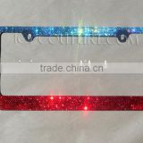 Custom Color OMBRE Crystal BLING License Plate Frame