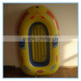 Yellow inflatable boat, inflatable raft boat for sale