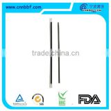 6*210 straight drinking straw with individual wrapped