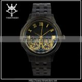 Transparent Jaragar mechanical automatic watch 2015 with chinese mechanical watch movement