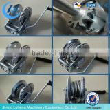 Quality mini anchor hand operated winch with crack and break, China supplier
