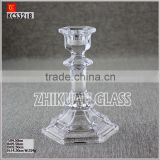 Factory sales Wholesale wine glass shape candle holder from quality glass candle holder suppliers