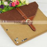 Hot Sale New Briefcase PU Leather For iPad air 2 Fashion Smart Stand Case For Apple iPad