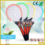 2015 Top Selling Recharge Electronic Mosquito Swatter Fly Killer Indoor Mosquito Racket Mosquito Killer