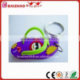 2016 New Children's Cartoon Shoe PVC Key Rings Mix Color