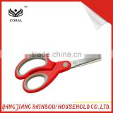 Hot selling PP red handle student scissors for kid