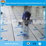 PET Self Adhesive modified bituminous waterproof membrane
