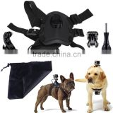 smatree gopros by bag of dog chest strap Dog Sport Pulling Harnesses Chest Strap Belt Mount+Bag of dog chest strap