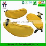 Banana shape PU cion purse mini coin pouch