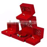 Pendants Or Charms Jewelry Type And Wedding Occasion Red Velvet Jewelry Box.                                                                         Quality Choice