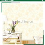 latest foaming non woven wallpaper, lemon yellow modern geometric wall decal for powder room , eco-friendly wall decor warehouse