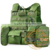 Ballistic Vest adopt1000D Waterproof And Flame Retardant nylon With NIJ III For Military