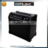 15w into 8ohms Custom Compact Practice Tubes Subwoofer Guitar Amp 3 Equalizer Amplifier