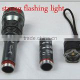 Hot Sales!! LED CREE Torch Outdoor Strong Rechargerable led flashing magnetic strobe lights