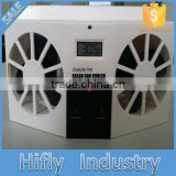 HF-606 New Developed Solar Portable Cooling Interior Car Fan Dubai Solar Powered Auto Fan Exhaust Cool Solar Fan
