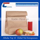 Factory sincce 1999 Custom White Field Paper Bag Photograph for Take Away Fast Food Paper Bag