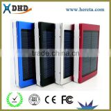 2015 top quality power bank 200000mah mobile phone induction charger solar power bank 10000mah