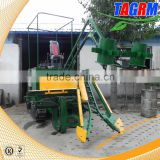 Low damage crawler mini small sugar cane harvesting machine/sugar cane harvester/sugarcane cutter