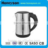 0.8L High quality long swan neck kitchen supply stainless steel cordless electric kettle