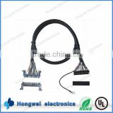 JAE FI-RE51HL to Dupont 2.0 and ring terminal with UL1571 28awg length 350mm Lvds cable assembly
