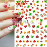 1Sheet Hot Fashion Nail Art Water Transfer Flower/Butterfly/Lips Designs Nail Sticker Decals DIY Foils Manicure Tips Decoration