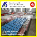 Glazed roof tile roll forming construction machine tile machine for sale                                                                                                         Supplier's Choice