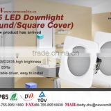 Fire Rated (90 Minutes On Fire)waterproof Ip65 Led Downlight 3 Years Warranty High Quality 15w Led Downlight