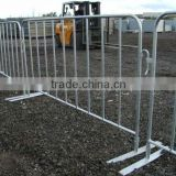 Heavy Duty Crowd Control Barriers with Flat Feet widely used in many ways