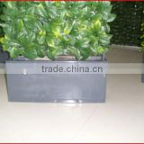 2013 Supplies artificial wood wpc handrail panel Garden Buildings all kinds of garden fence gardening