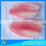 frozen red tilapia fillet