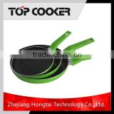 Aluminium Black Ceramic Coating Frying Pan Without Oil
