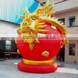 chinese inflatable dragon/outdoor decorative inflatable dragon