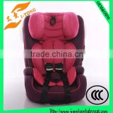 2016 New Model Deluxe High Quality Safety Design Portable Baby Car Seat for Baby 9-36KG