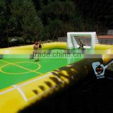 pvc tarpaulin inflatable panna water soccer field                                                                         Quality Choice