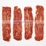free additive natural meat dry cut duck jerky dog treat healthy dog snack organic pet food