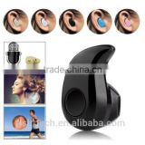 Mini single ear invisiable invisible bluetooth earphone Wireless Bluetooth 4.0 Stereo In-Ear Headset Earphone For Samsung iphone