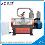 Big Power 5.5KW Water Cooling 3D Woodworking CNC Router Machine ZKM-1325 1300*2500MM With 200MM Z-Axis With Dust Collector