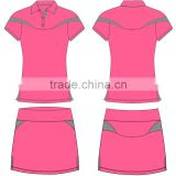Stan Caleb custom design fashion women tennis wear