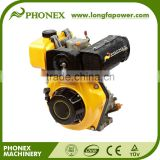Chinese Air Cooled Single Cylinder Diesel Engine, Model 170F 5HP Diesel Engine for sale, 10hp air cooled Diesel Engine