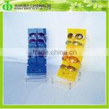 DDU-0006 Countertop Standing Sunglasses Display Rack, Acrylic Sunglasses Display Rack, Plexiglass Sunglasses Rack