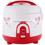 International push button steamer measuring cup rice cooker