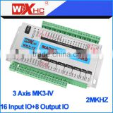 Mach3 3-axis cnc high quality Training woodworking cnc router USB port cnc controller card Mach3