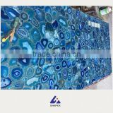 Blue onyx tile slab stone for decoration