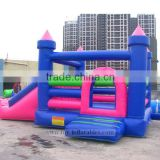 Best design cheap inflatable bouncer castle with slide