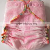 Naughty baby High quality Organic Bamboo Velour baby Cloth diaper cover cloth nappy