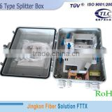 waterproof fiber optic splitter box optical fiber splice box