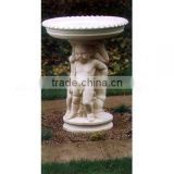 baby sculpture birdbath large original design garden planter elegant stand flower pot birdbath