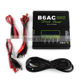 Lipo Battery balance CHARGER B6 AC B6AC+80W dual power Built-in AC Adapter